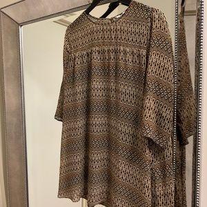 H&M Geo Print Dress